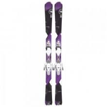 Temptation 80 Ski System with Bindings Women's, 144 by Rossignol
