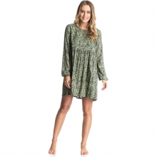 Traveler Dress - Sale Deep Forest Wal Large by Roxy