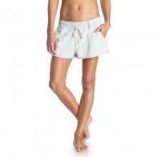 Beachy Beach Denim Shorts - Closeout Vintage Bleach X Small by Roxy