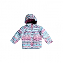 Girls Mini Jetty Jacket - Closeout Dixie - Hawaiian Ocean 03 by Roxy