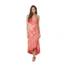 Womens Setting Sun Dress - Closeout Sugar Coral Stripe Medium by Roxy