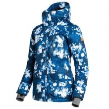 Andie Insulated Snowboard Jacket Women's, Ina Floral, M by Roxy