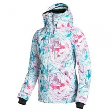 Wildlife Insulated Snowboard Jacket Women's, Snow Twist, L by Roxy