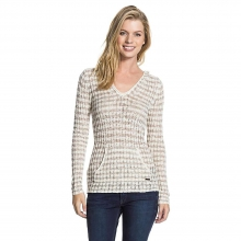 Women's White Caps Sweater by Roxy