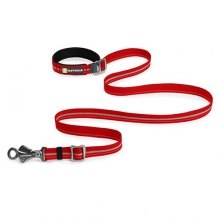 - slack line leash - Red Rock in Peninsula, OH