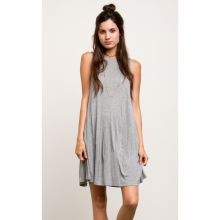 Womens Sucker Punch 2 Dress - Closeout Heather Grey Large by RVCA