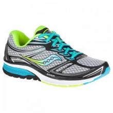 Guide 9 Running Shoe Women's, Grey/Blue/Citron, 10 by Saucony