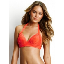 Seafolly Womens Goddess Fixed Moulded Halter by Seafolly