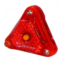 Helmet Light Rear - Red by Serfas