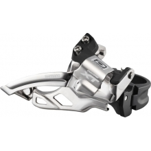 Deore XT Dyna-Sys 10-Speed Double Front Derailleur (Top Swing, Clamp-On) by Shimano