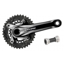 Deore 10-speed Double Crankset (38/24) in Freehold, NJ