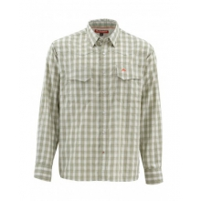 Big Sky LS Shirt by Simms in Evergreen Co