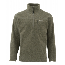 Rivershed Sweater QTR Zip by Simms in Cotter Ar