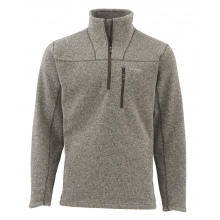 Rivershed Sweater QTR Zip by Simms in Sandy Ut