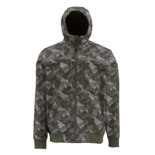 Rogue Fleece Hoody by Simms in Cotter Ar