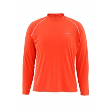 Men's Solarflex LS Crewneck Solid by Simms in Cherokee NC