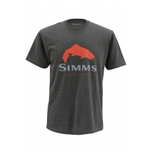 Men's Trout Logo SS T by Simms