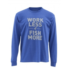 Work Less Fish More LS T - Tarpon by Simms in Sugarcreek Township Oh