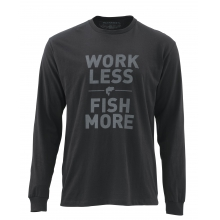 Work Less Fish More LS T - Bass by Simms in Murfreesboro Tn