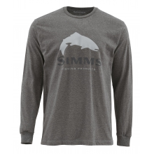 Trout Logo LS T by Simms