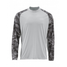 SolarFlex LS Crewneck Prints by Simms in Omak Wa