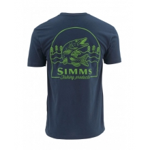 Weekend Muskie SS T by Simms