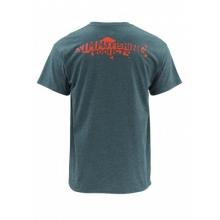 Woodblock Trout SS T by Simms