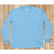 Fieldtec Fishing Team Long Sleeve Shirt - Closeout Breaker Blue by Southern Marsh