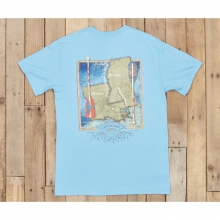 River Routes - Louisiana and Mississippi - New Breaker Blue by Southern Marsh