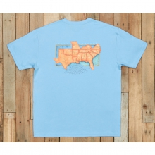 River Routes - The South - New Breaker Blue Medium by Southern Marsh