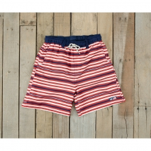 Youth Dockside Swim Trunk - Closeout Red White & Blue by Southern Marsh