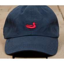 The  Hat - New Navy With Red Duck One Size by Southern Marsh