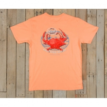 Mens Crab Boil Festival Tee - New Melon Medium by Southern Marsh