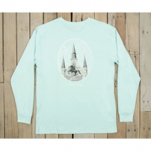 Mens Jackson Square Tee - New Ocean Green XL
