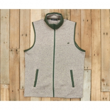 Mens Woodford Vest - Sale Light Gray Small by Southern Marsh