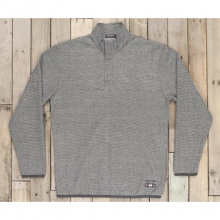 Mens Eagle Trail Pullover - Sale Midnight Gray and White by Southern Marsh