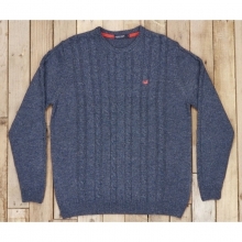 Mens Townsend Sweater - New Navy Medium by Southern Marsh