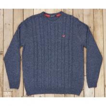 Mens Townsend Sweater - New Navy Medium