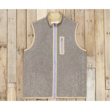 Mens Highland Alpaca Vest - Sale Midnight Gray Medium