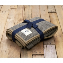 Highland Alpaca Blanket - New Midnight Gray One Size by Southern Marsh