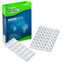 2nd Skin Aquaheal Hydrogel Bandages - Green