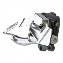 X7 2x10 Front Derailleur<br>(Low Direct-mount, Dual-pull) by SRAM