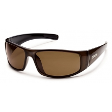 Atlas - Brown Polarized Polycarbonate by Suncloud in Lake Geneva Wi