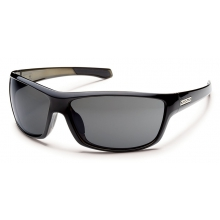 Conductor - Gray Polarized Polycarbonate by Suncloud in Sandy Ut