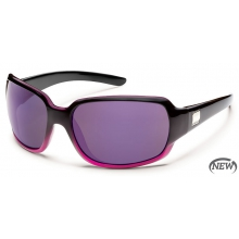 Cookie  - Purple Mirror Polarized Polycarbonate by Suncloud in Golden Co