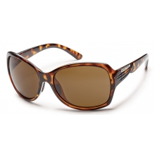 Cassandra - Brown Polarized Polycarbonate by Suncloud in Anchorage Ak