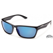 Cutout  - Blue Mirror Polarized Polycarbonate by Suncloud in Lake Geneva Wi