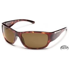 Convoy  - Brown Polarized Polycarbonate by Suncloud in Meridian Id