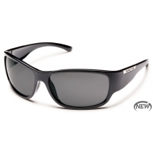 Convoy  - Gray Polarized Polycarbonate by Suncloud in Meridian Id