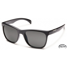 Doubletake  - Gray Polarized Polycarbonate by Suncloud in Meridian Id